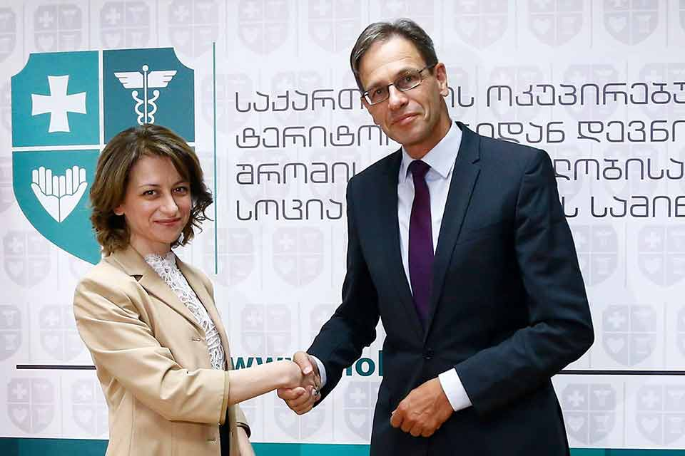 Health Minister met Ambassador of Germany