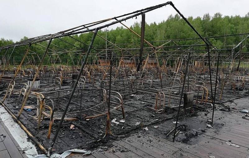 Ռուսաստանում, ամառային ճամբարում բռնկված հրդեհի պատճառով զոհվել է չորս երեխա