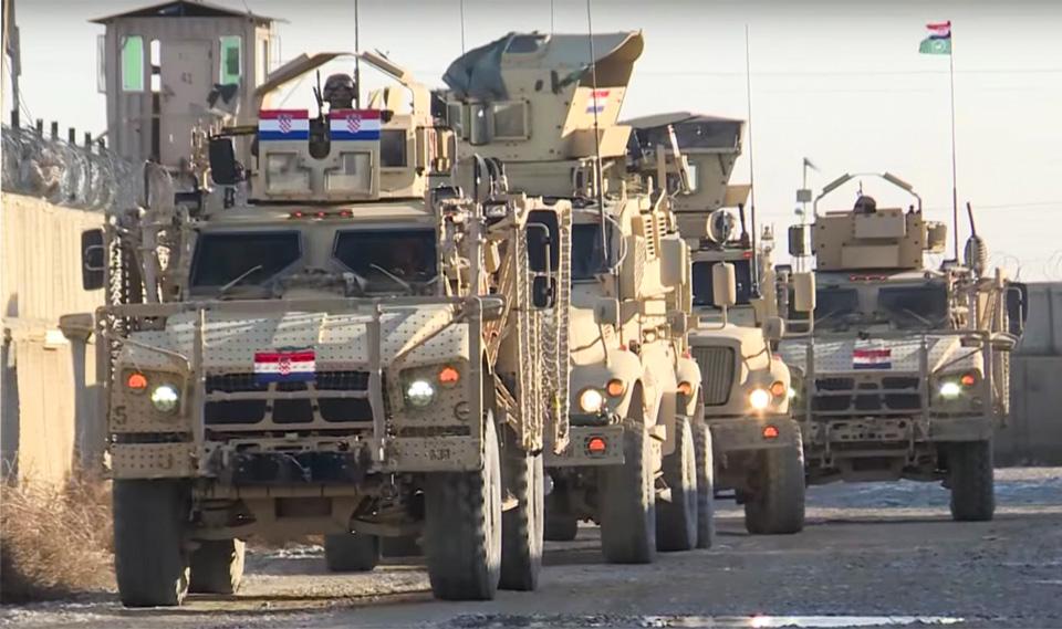 ქაბულში ნატო-ს ავტოკოლონაზე განხორციელებული თავდასხმის შედეგად სამი ხორვატი სამხედრო დაშავდა