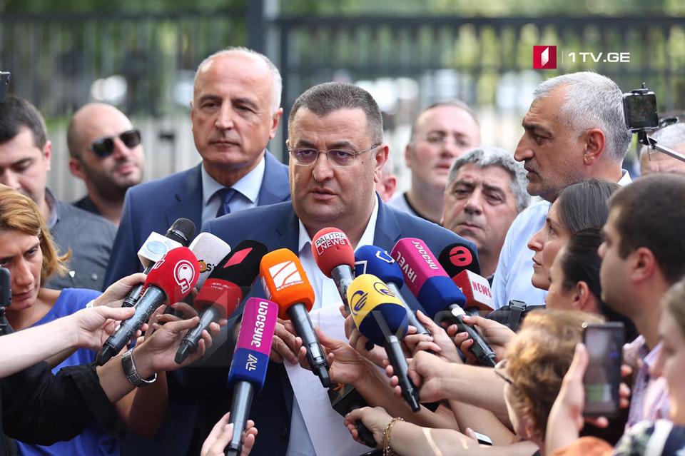 """Звиад Кордзадзе - В обвинительном постановлении написано, что Мамука Хазарадзе и Бадри Джапаридзе """"отмыли"""" деньги """"TBC Bank"""" -а, это немыслимо"""