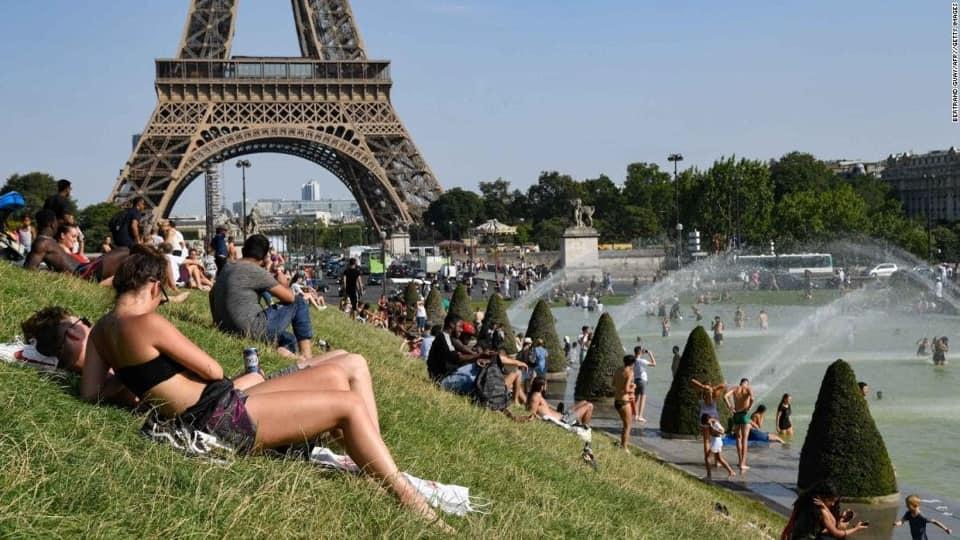ევროპაში ანომალიური სიცხე ფიქსირდება