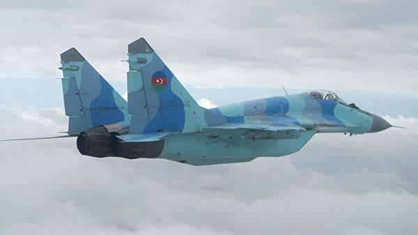 აზერბაიჯანის სამხედრო-საჰაერო ძალების ავიაგამანადგურებელი კასპიის ზღვაში ჩავარდა