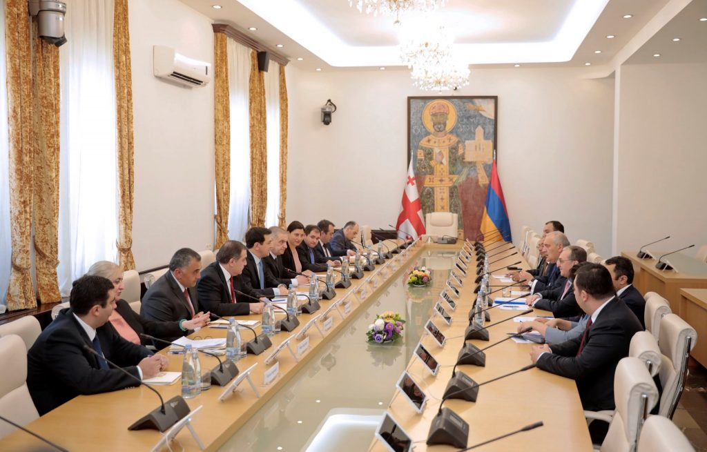Archil Talakvadze met Minister of Foreign Affairs of Armenia