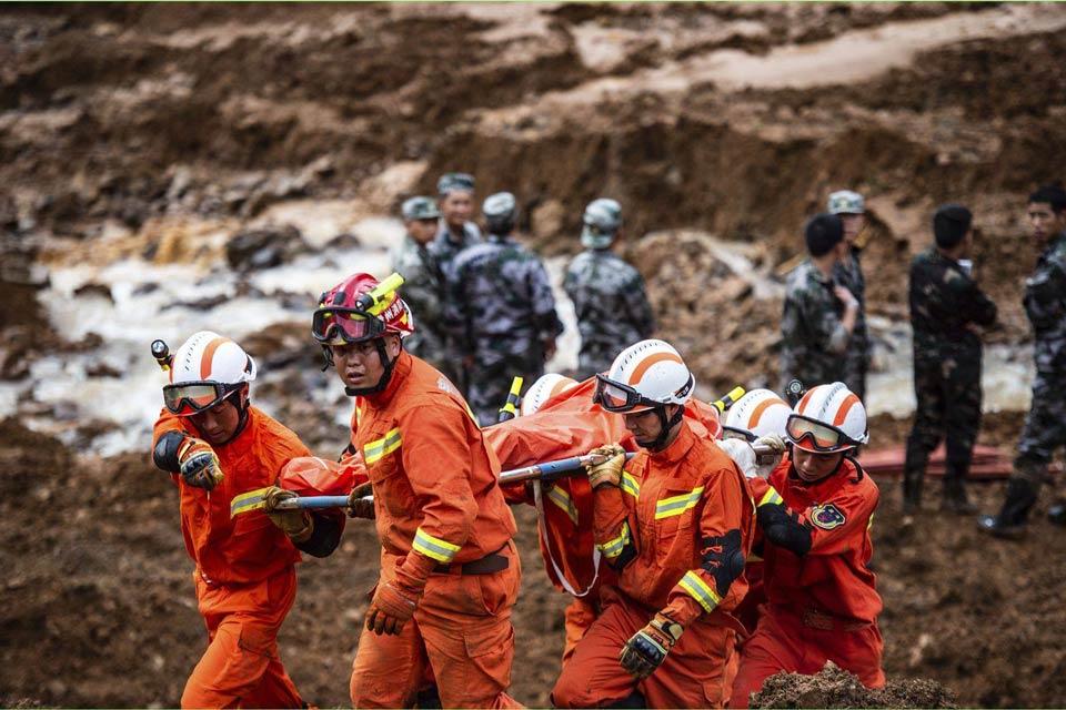 ჩინეთში მეწყერი ჩამოწვა, დაღუპულია 20 ადამიანი
