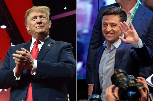 Trump congratulates Zelensky on his party's victory in parliamentary elections