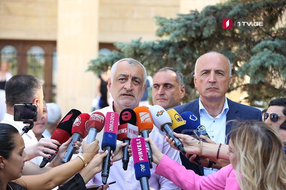 Мамука Хазарадзе - Я и Бадри Джапаридзе собираемся устраниться от участия в Совете правления Анаклии