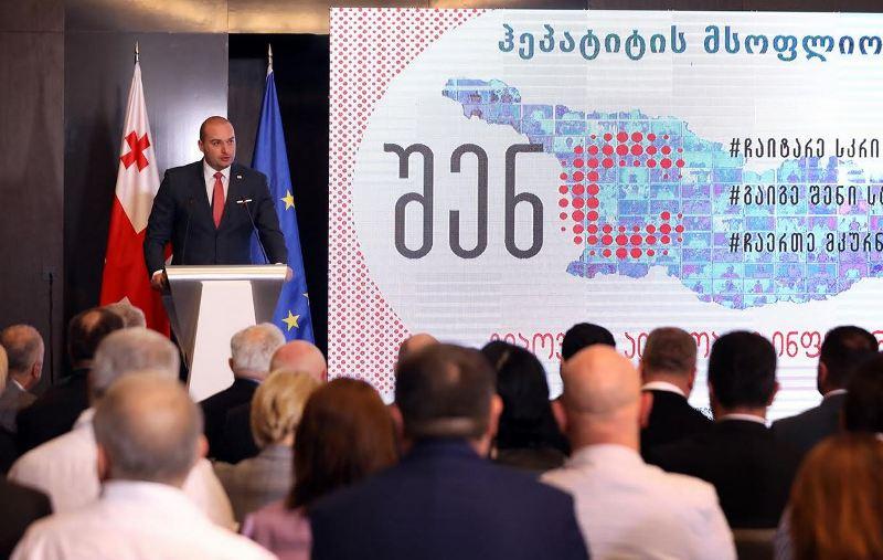 Mamuka Bakhtadze – Hepatitis C Elimination Program is a national project
