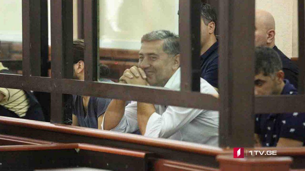 Суд избрал заключение в качестве меры пресечения для Ираклия Окрушавили