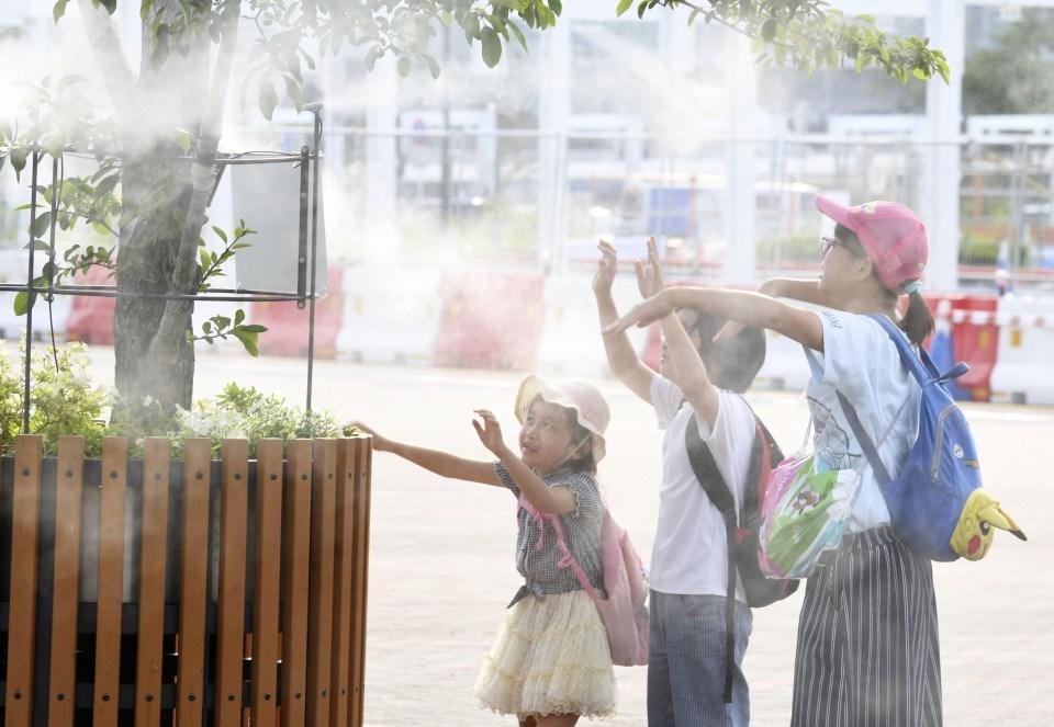 იაპონიაში სიცხეს გასული ერთი კვირის განმავლობაში 11 ადამიანი ემსხვერპლა