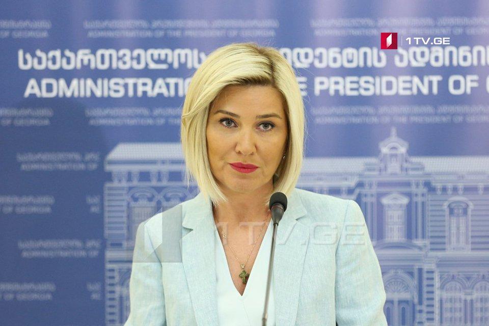 Хатия Моисцрапишвили - Президент считает, что что комиссии по установлению границы между Грузией и Азербайджаном должна быть дана возможность работать