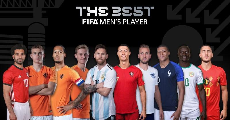 ფიფამ წლის საუკეთესო ფეხბურთელის პრიზზე 10 პრეტენდენტი გამოაცხადა