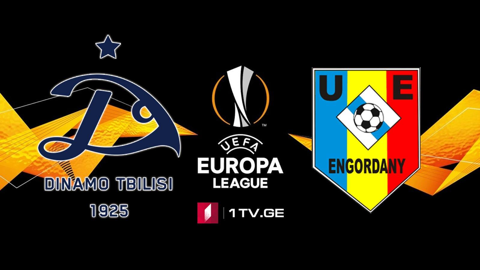 """""""დინამო თბილისი"""" - """"ენგორდანი"""", ანდორა #ევროპალიგა / Europa League - Dinamo Tbilisi vs Engordany #LIVE"""