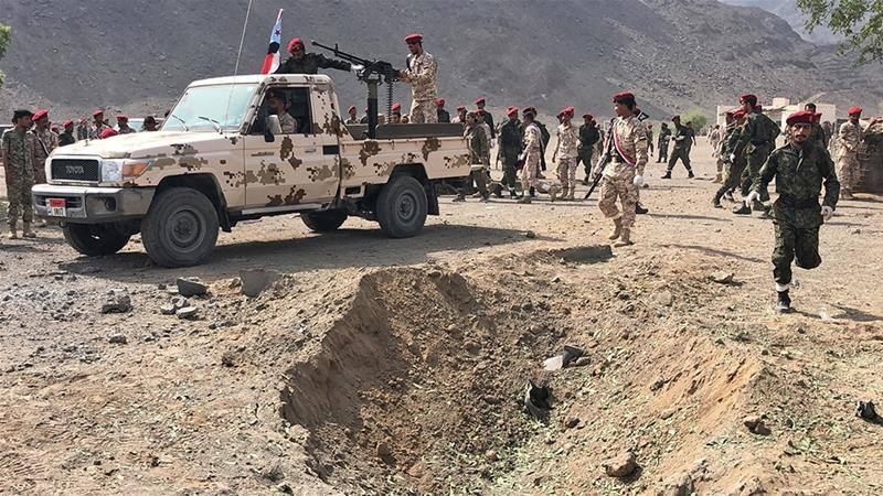 იემენში სამხედრო აღლუმზე სარაკეტო იერიშსა და ავტომობილის აფეთქებას 49 ადამიანი ემსხვერპლა