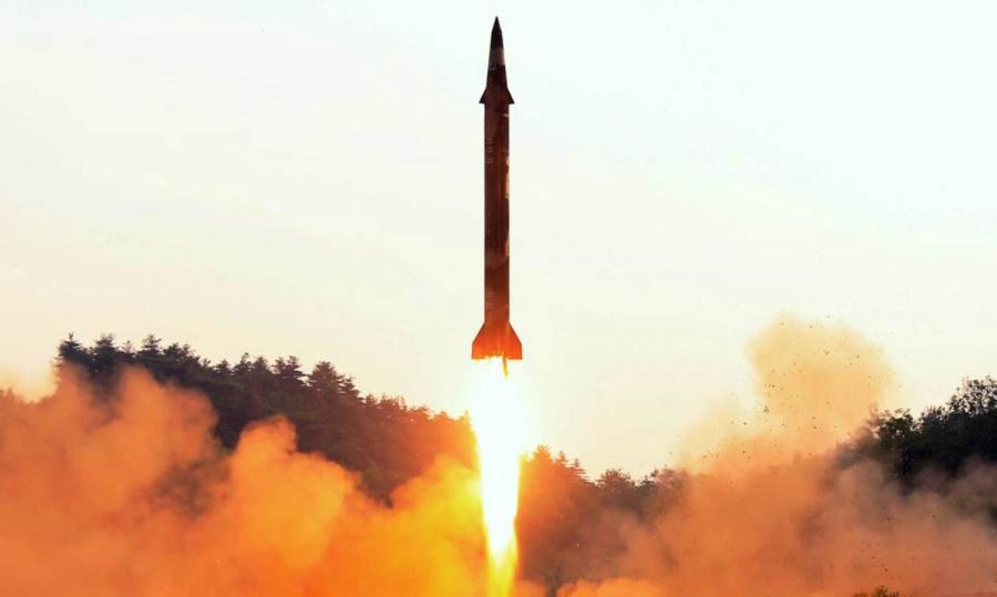 """""""როიტერი"""" - ჩრდილოეთ კორეამ სავარაუდოდ კიდევ ერთი რაკეტა გაუშვა"""