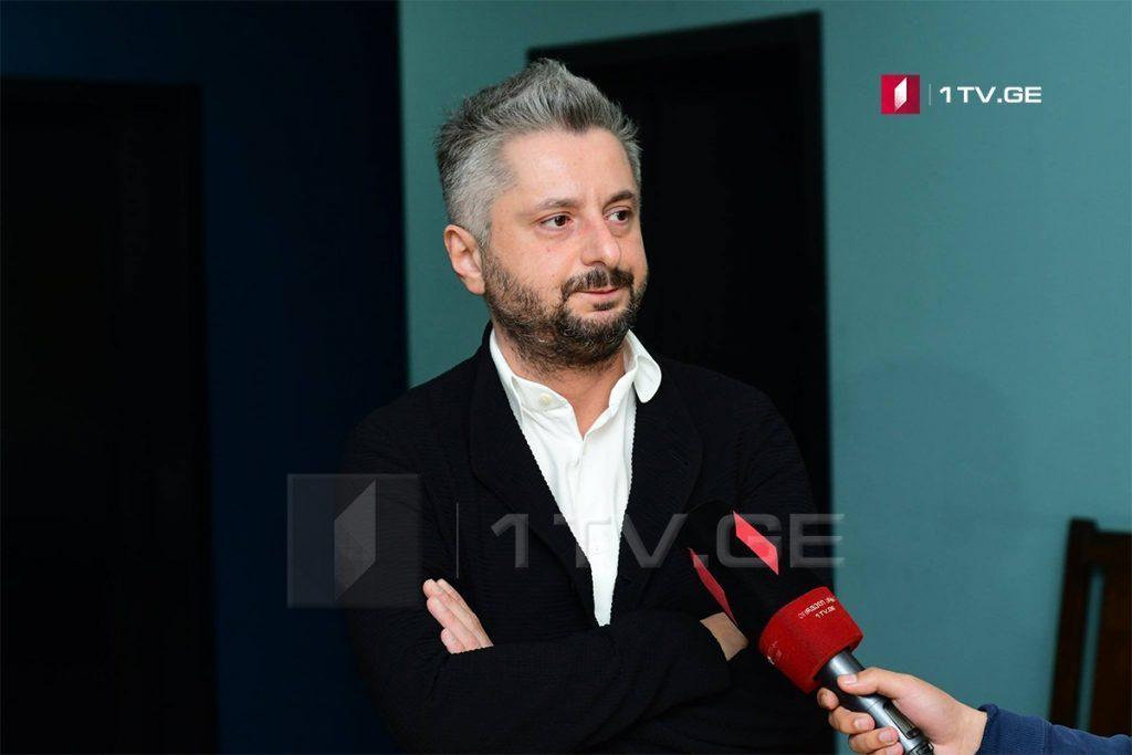 Ника Гварамия явился в Тбилисский городской суд