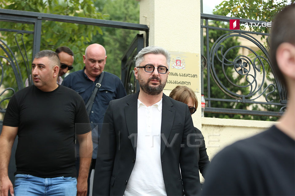 Questioning of Nika Gvaramia ended at Tbilisi City Court