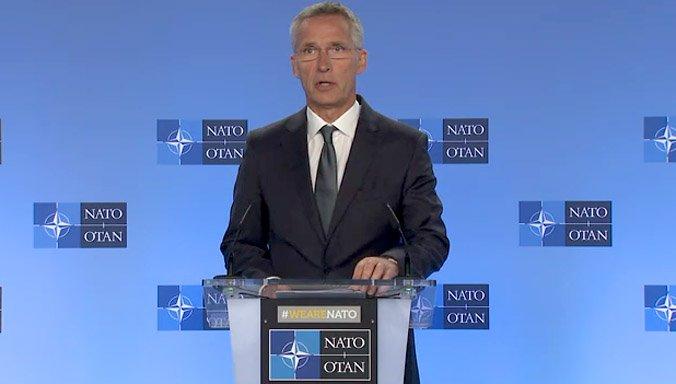 Йенс Столтенберг - У НАТО нет намерений размещать в Европе новые ядерные ракеты наземного базирования