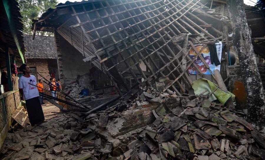 Ինդոնեզիայում ուժգին երկրաշարժի հետևանքով զոհվել է մեկ մարդ, տուժել՝ չորսը