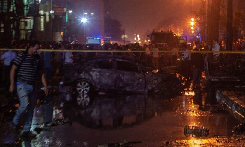 ქაიროში აფეთქების დროს 17 ადამიანი დაიღუპა