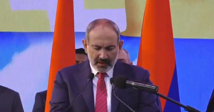 Никол Пашинян - Арцах - это Армения, и все!