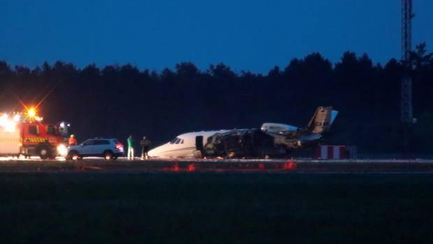 ადგილობრივი მედიის ინფორმაციით, დანიაში კერძო თვითმფრინავს ცეცხლი გაუჩნდა