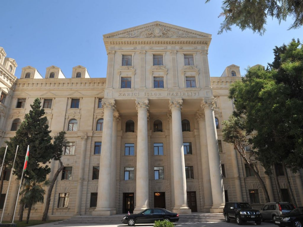 МИД Азербайджана - Заявления Никола Пашиняна в городе Ханкенди в Нагорном Карабахе подтверждают, насколько он забывчив и беспомощен