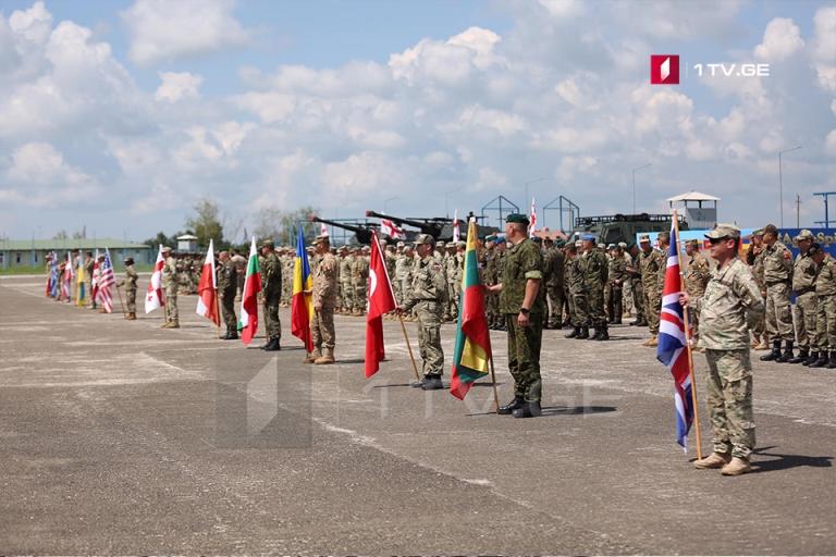 ABŞ Ordusunun Avropa Komandanlığı Gürcüstanda keçirilən hərbi təlimin videomaterialını yayır