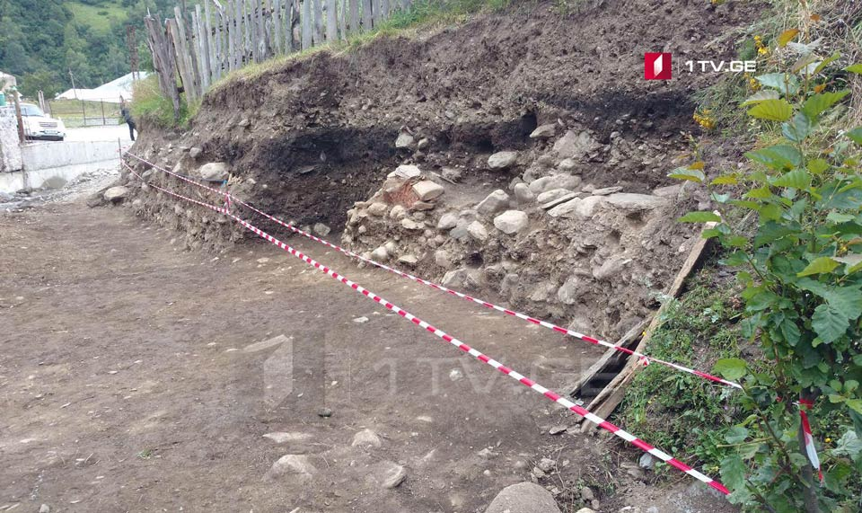 Archaeological discovery in Svaneti