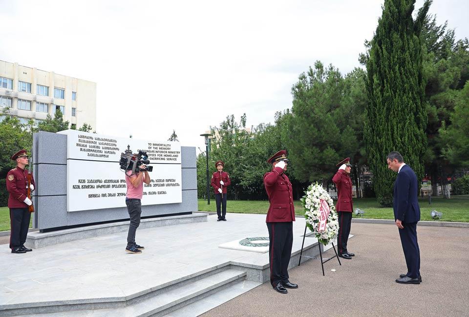 გიორგი გახარია - ქედს ვიხრით აგვისტოს ომში დაღუპული გმირების წინაშე, მათი შვილები ჩვენი შვილებიც არიან