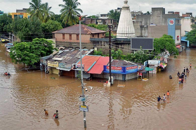 ინდოეთში წყალდიდობის შედეგად 22 ადამიანი დაიღუპა