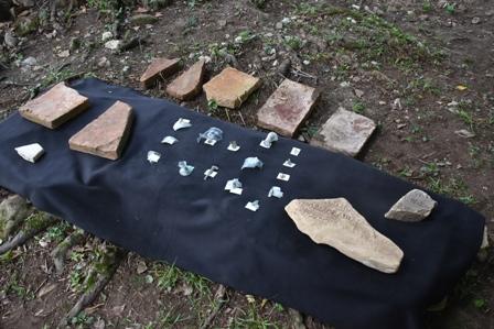 ხობში, მაჩხომერის გორაზე ახალი არტეფაქტები აღმოაჩინეს
