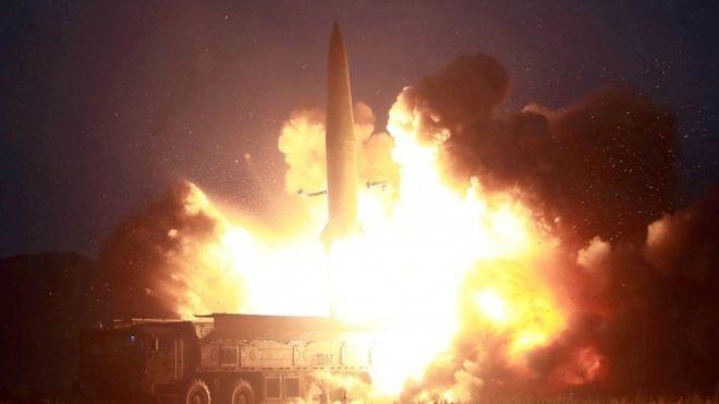 ჩრდილოეთ კორეამ მცირე მანძილზე მოქმედი ორი რაკეტა გამოსცადა