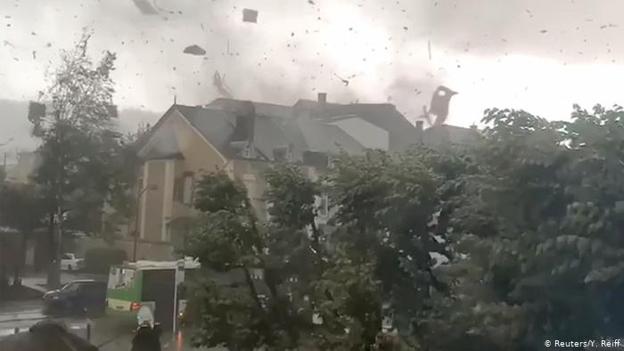 Fourteen injured as tornado ravages south of Luxembourg