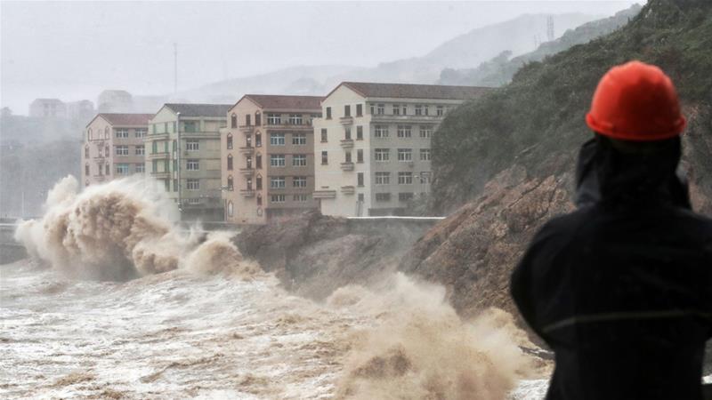 """ჩინეთში ტაიფუნ """"ლეკიმას"""" 28 ადამიანი ემსხვერპლა"""