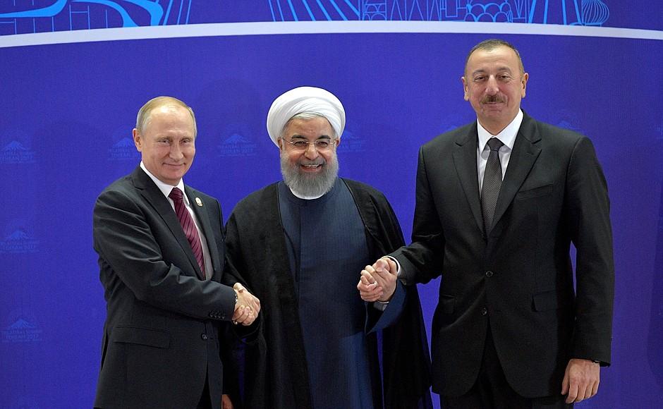 რუსეთის, ირანისა და აზერბაიჯანის პრეზიდენტები 14 აგვისტოს სოჭში გამართავენ შეხვედრას