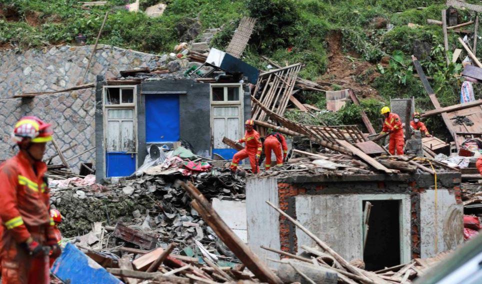 """ტაიფუნ """"ლეკიმას"""" ჩინეთში 44 ადამიანი ემსხვერპლა"""