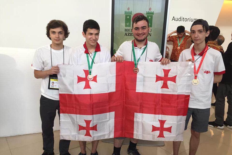ქართველმა მოსწავლეებმა ინფორმატიკის საერთაშორისო ოლიმპიადაზე გამარჯვება მოიპოვეს