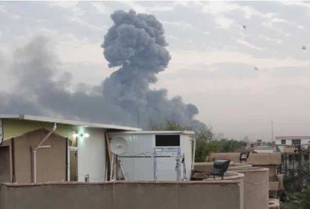 ბაღდათში, იარაღისა და საბრძოლო მასალების საწყობში აფეთქებისას 13 ადამიანი დაშავდა