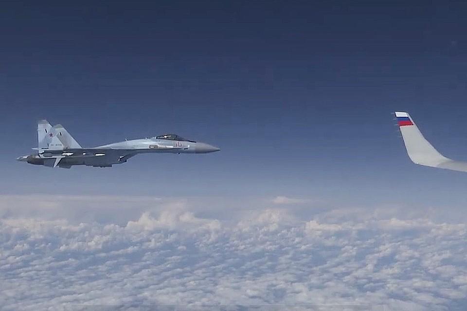 რუსული მედია - ნატო-ს ავიაგამანადგურებლები რუსეთის თავდაცვის მინისტრის თვითმფრინავთან მიახლოებას შეეცადნენ