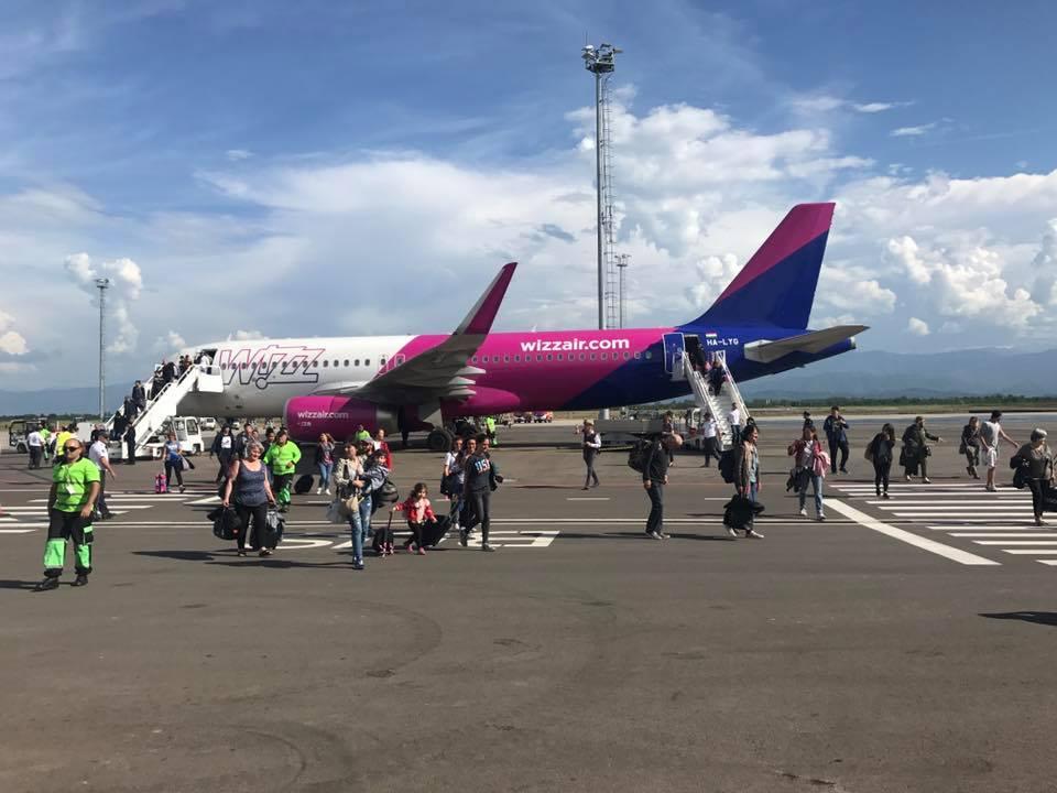 «WizzAir»-ի կողմից Քութաիսիի օդանավակայանից 12 նոր ուղղություն ավելացնելու ժամկետը հետաձգվել է