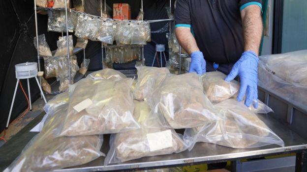 ავსტრალიაში სამართალდამცველებმა 60 მილიონი დოლარის ღირებულების ნარკოტიკული ნივთიერება ამოიღეს