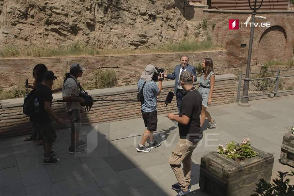 ისრაელში პოპულარული ტელეგადაცემა საქართველოს ტურისტული პოტენციალის შესახებ რეპორტაჟს ამზადებს