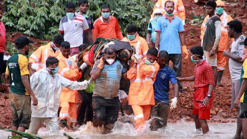 ინდოეთში წყალდიდობის შედეგად გარდაცვლილთა რიცხვი 270-მდე გაიზარდა
