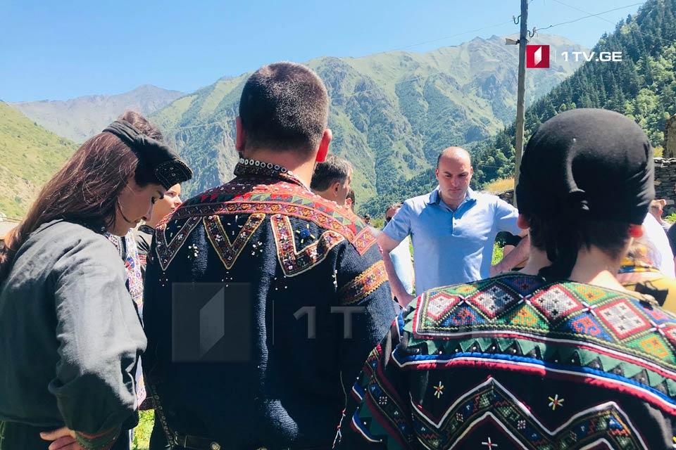 Мамука Бахтадзе - Наша обязанность - восстановить Амга и мы обязательно сделаем это