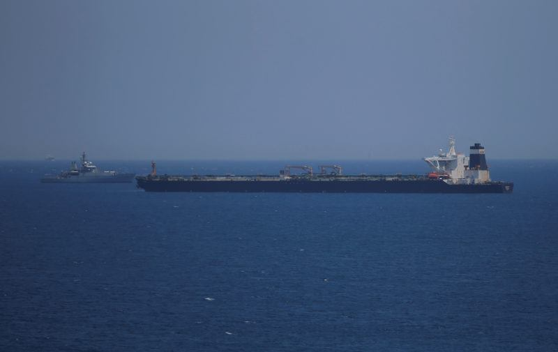 აშშ-მა გიბრალტარის ხელისუფლებას სთხოვა, ირანული ნავთობტანკერი არ გაათავისუფლოს