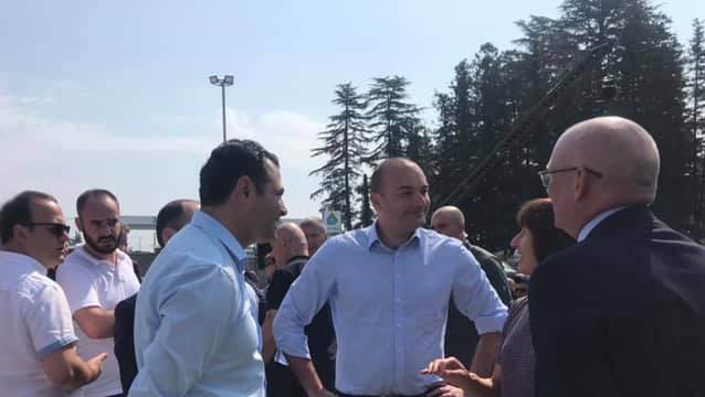 Мамука Бахтадзе ознакомился с работой штаба по борьбе с мраморным клопом в муниципалитете Абаша