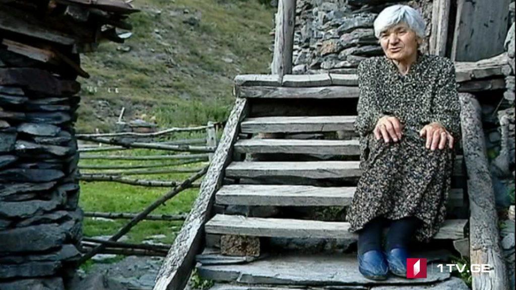 ამღას უხუცესი მკვიდრი სანდუა წიკლაური – უნდა აღდგეს ეს სოფელი, თორემ შემოსახლდებიან და დაიკავებენ, საზღვრისპირა სოფელია