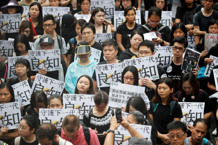 ჰონგ-კონგში მოსწავლეები სასწავლო წლის დაწყების დროს მასშტაბურ გაფიცვას გეგმავენ