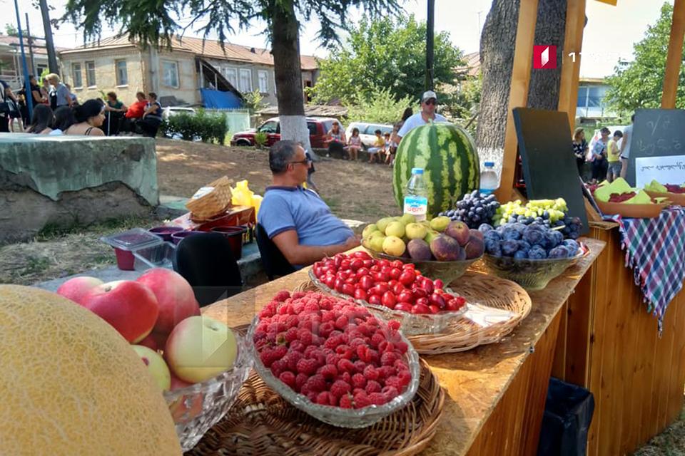 გურჯაანში ხილის ფესტივალი გაიმართა