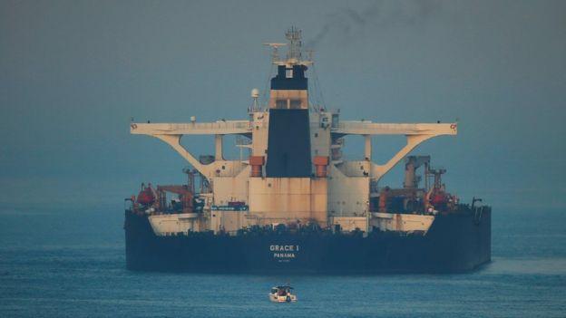 დიდ ბრიტანეთშიირანის ელჩი - დაკავებული ირანული ნავთობტანკერი გიბრალტარს დღეს საღამოს დატოვებს